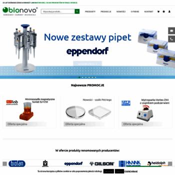 Bionovo.pl thumbnail