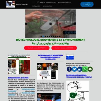 Biotech-ecolo.net thumbnail