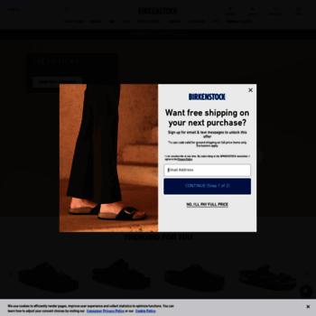 538458c8e5e birkenstock.com at WI. BIRKENSTOCK USA Online Shop
