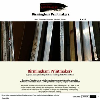 Birminghamprintmakers.org thumbnail