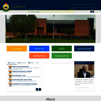 bisemdn edu pk at WI  Welcome To BISE Mardan Official Site