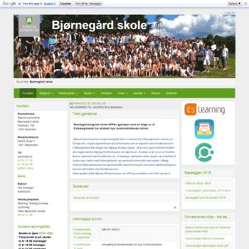 Bjornegardskole.no thumbnail