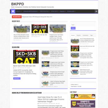 Bkppd.gunungmaskab.go.id thumbnail