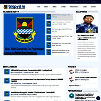 Bkpsdm.bandungbaratkab.go.id thumbnail