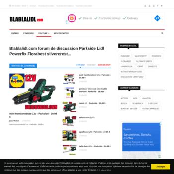 Blablalidlcom At Wi Blablalidlcom Forum De Discussion