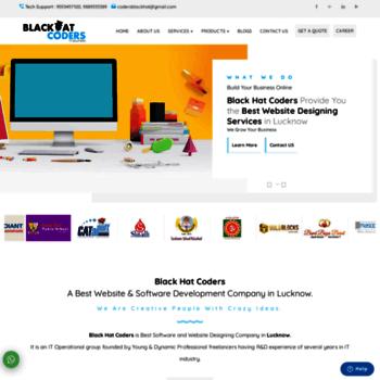 blackhatcoders com at WI  Black Hat Coders IT Solutions - IT Company