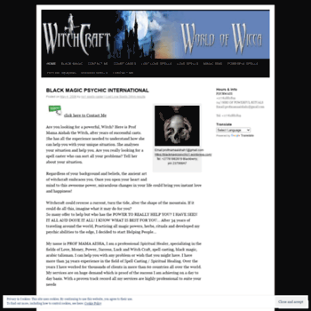 Blackmagicpsychic1.wordpress.com thumbnail
