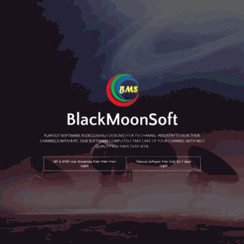 blackmoonsoft com at WI  Playout Software - Cable TV