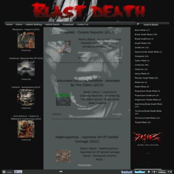 Blast-death.org thumbnail