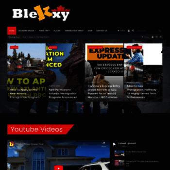 blekxy com at Website Informer  Home  Visit Blekxy
