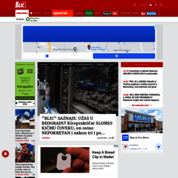 Blic.rs thumbnail
