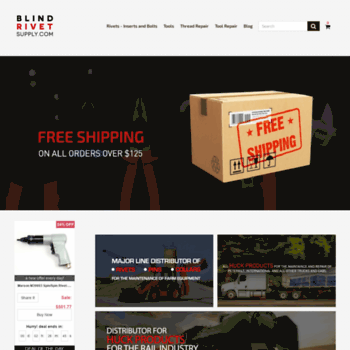 blindrivetsupply com at WI  Blind Rivets | Huck Tools | Huck