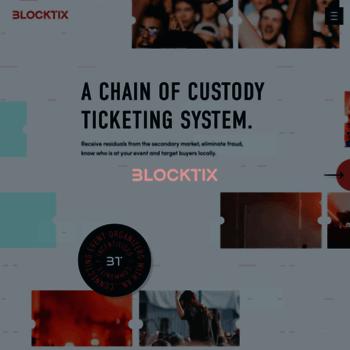 Blocktix.io thumbnail