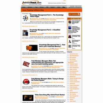Blog.adminitrack.com thumbnail