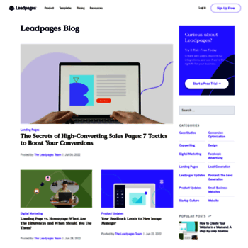 Blog.leadpages.net thumbnail