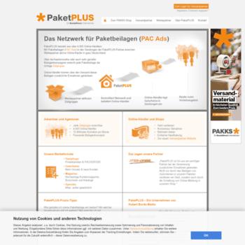 Blog.paketplus.de thumbnail