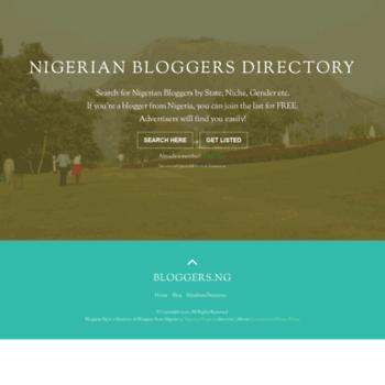 Bloggers.ng thumbnail
