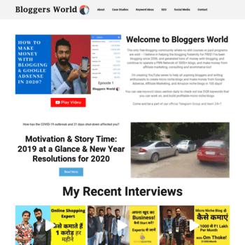 Bloggers.world thumbnail