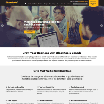Bloomtools.ca thumbnail