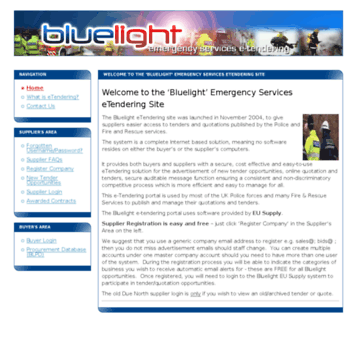 Bluelight.gov.uk thumbnail