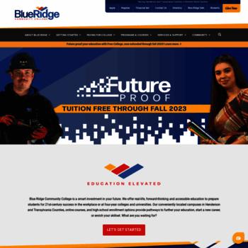 Blueridge.edu thumbnail