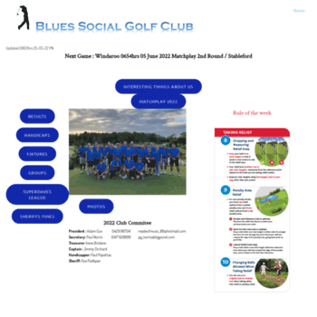 Bluesgolfclub.net thumbnail