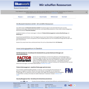 Bluework-solutions.de thumbnail