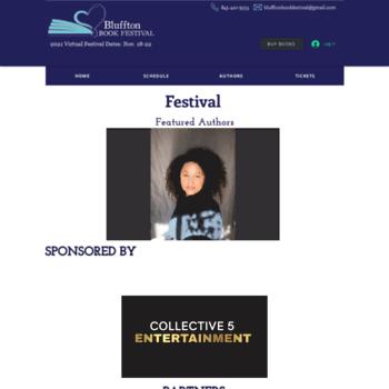 Blufftonbookfestival.com thumbnail