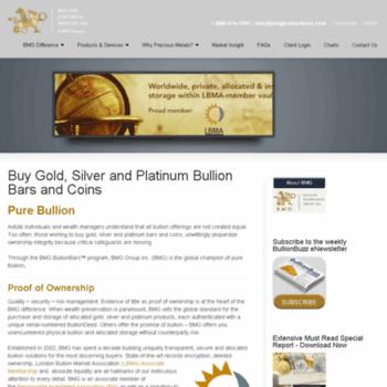 Bmgbullionbars.co.uk thumbnail