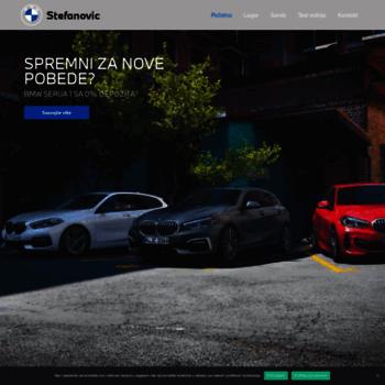Bmw-stefanovic.rs thumbnail