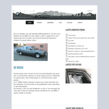 Bmwe23.nl thumbnail