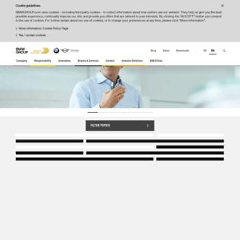 Bmwgroupde At Website Informer Bmw Group Visit Bmw Group
