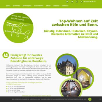 Boardinghouse-bornheim.de thumbnail