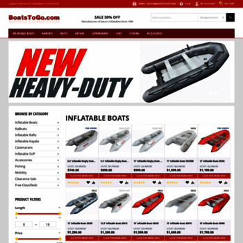 boatstogo com at WI  Inflatable Boats 50% OFF | Every