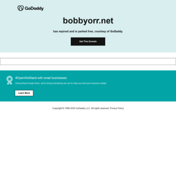 Bobbyorr.net thumbnail