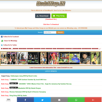 bodowap in at WI  BodoWap In :: Bodo mp3 songs download, Bodo new