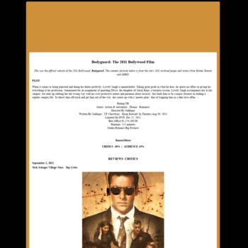 Bodyguardthefilm.com thumbnail
