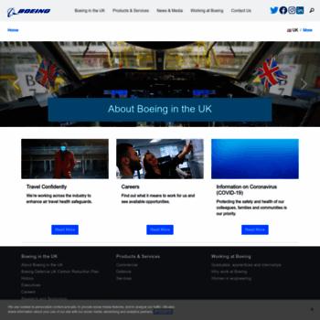 Boeing.co.uk thumbnail