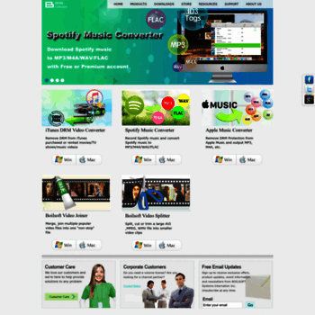 boilsoft com at WI  Spotify to MP3, Apple Music Converter, iTunes