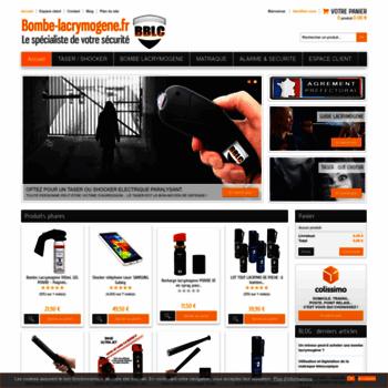 Bombe-lacrymogene.fr thumbnail