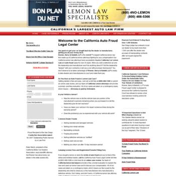 Lemon Law California >> Bonplandunet Net At Wi California Lemon Law Firm Made Up Of