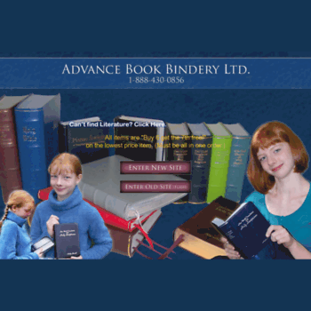 Bookbindery.ca thumbnail