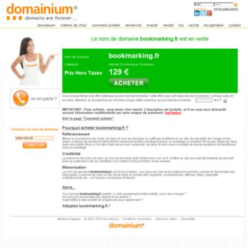 Bookmarking.fr thumbnail