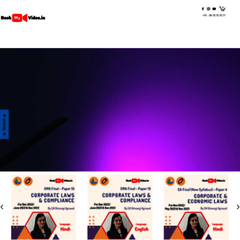 Bookmyvideo.in thumbnail