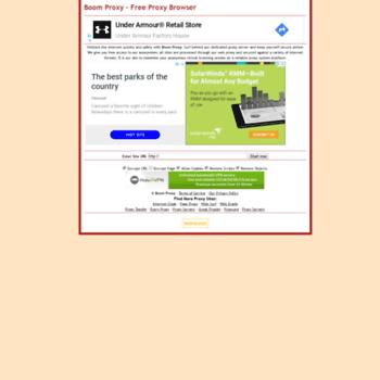 Boom Proxy - Free Proxy Browser