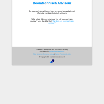 Boomtechnischadviseur.nl thumbnail
