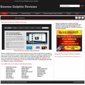 Boonexdolphin-reviews.info thumbnail