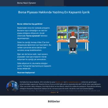 Borsanasiloynanir Org At Wi Borsa Nasil Oynanir Borsa