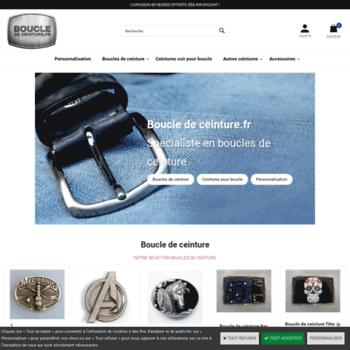2f168063ae1 boucle-de-ceinture.fr at WI. Boucle de ceinture.fr   Spécialiste en ...