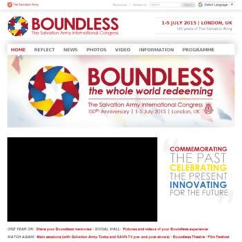 Boundless2015.org thumbnail